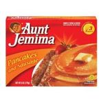 Aunt jemima -  Pancakes And Sausage 0051000063922