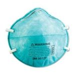 3M -  3M Respirator 8612F, N95 - N95 Particle Respirator 8612F Mask, 2/Pack 0051131984516