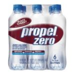 Propel - Mind Water Beverage Black Cherry 0052000002843  / UPC 052000002843