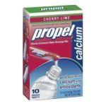 Propel - Zero Cherry Lime Calcium Water Beverage Mix 0052000132441  / UPC 052000132441