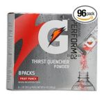 Gatorade - Thirst Quencher Powder Packs 0052000360028  / UPC 052000360028