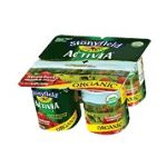 Activia - Organic Activia Strawberry Yogurt 4 ct 0052159040673  / UPC 052159040673