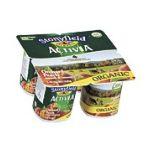 Activia - Stonyfield Organic Orchard Peach Lowfat Yogurt 16 0052159700355  / UPC 052159700355