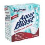 Aquafresh - Toothbrush Cleaner 16 tablet 0053100004751  / UPC 053100004751