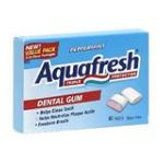 Aquafresh - Dental Gum 40 piece 0053100005758  / UPC 053100005758