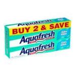 Aquafresh - Fluoride Toothpaste 0053100325559  / UPC 053100325559
