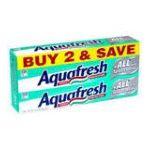 Aquafresh - Fluoride Toothpaste 0053100334100  / UPC 053100334100