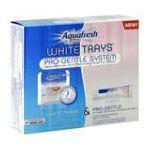 Aquafresh - White Trays Pro Gentle System Featuring White Trays + Pro Gentle Toothpaste 0053100442249  / UPC 053100442249