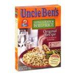 Uncle Ben's - Rice Long Grain & Wild Original Recipe 0054800020010  / UPC 054800020010