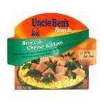 Uncle Ben's - Broccoli Cheese & Ham 0054800030842  / UPC 054800030842