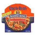 Uncle Ben's - Noodle Bowl 0054800220007  / UPC 054800220007