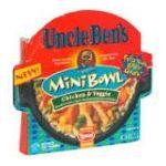 Uncle Ben's - Mini Bowl 0054800330010  / UPC 054800330010