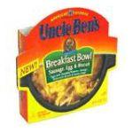Uncle Ben's - Breakfast Bowl 0054800330089  / UPC 054800330089