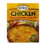 Grace -  Flavoured Noodle Soup Mix Chicken 0055270844151