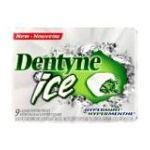 Dentyne -  Gum Sugar Free Hypermint 9 piece 0057700213858