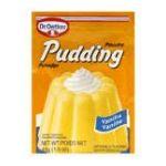 Dr. Oetker -  Vanilla Pudding Powder Packs Wrapper 0058336120138