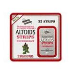 Altoids - Breath Strips Peppermint 32 strips 0059280305053  / UPC 059280305053