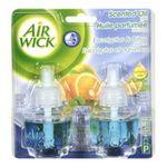 Air Wick -  Essential Oils Revitalization Eucalyptus & Citrus Scented Oil Refill Value Pack 0062338816517