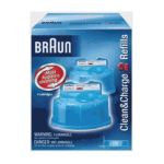 Braun - Clean & Charge Refill 2 count 0069055819470  / UPC 069055819470