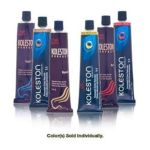 Wella -  Koleston Perfect Permanent Creme Haircolor 1+1 7 45 Warm Burgundy Red 0070018851161