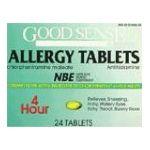 Good Sense -  Allergy Tabs 24 ct 0070030130169