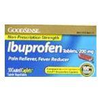 Good Sense -  Ibuprofen Caplets 50 ct 0070030131654