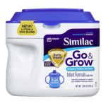 Abbott Laboratories -  Go & Grow Infant Formula With Iron & Grow Complete Toddler Nutrition Milk-based Powder Infant Formula With Iron 1.38 lb 0070074508283