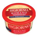 Digiorno -  Romano Cheese Pasteurized Part-skim Cow's Milk Cheese Culture Salt Enzymes Powdered Cellulose To Prevent Caking Potassium Sorbate As A Preservative 0070277831546