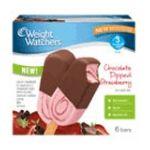 Weight Watchers -  Chocolate Dipped Strawberry Ice Cream Bars 0070640004713
