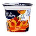 Weight Watchers -  Yogurt Nonfat Peach 0070640502035
