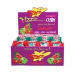 Andre Prost brands - Zotz Fizz Power Candy Cherry Apple And Watermelon Flavors 0070650000088  / UPC 070650000088
