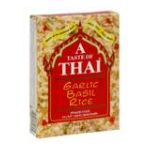 Andre Prost brands - Garlic Basil Rice 0070650800305  / UPC 070650800305
