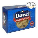 DaVinci Pasta -   None Jumbo Shells 0070670007425 UPC 07067000742