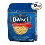 DaVinci Pasta -   None Elbow Macaroni 0070670007463 UPC 07067000746
