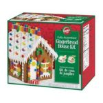 Wilton -  Pre-baked & Pre-assembled Gingerbread House Kit Cookie Christmas Holiday 0070896019042