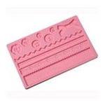 Wilton -  Wilton Fondant and Gum Paste Silicone Mold Fabric 0070896125637