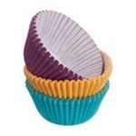 Wilton -  Wilton ASSORTED JEWEL COLORS Mini BAKING CUPS Cupcake 0070896411112