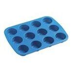 Wilton -  Easy-Flex Silicone Mini Muffin Pan-12 Cavity 0070896508294
