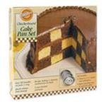 Wilton -  Checkerboard Cake Pan Kit-9X1.5 0070896599612