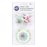 Wilton -  Cupcake Combo Pack 24/Pkg-Modern Garden Party 0070896731722
