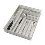 Wilton -  Copco Large Mesh 6-Part In-Drawer Utensil Organizer, Silver - 2555-7874 0070896978745