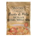 Alessi - Traditional Brodo Di Pollo Chicken Flavored Noodle Soup 0071072003756  / UPC 071072003756