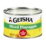 Geisha foods -  Sliced Pineapple 0071140410004