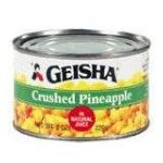 Geisha foods -  Crushed Pineapple 0071140410158