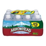 Arrowhead Mills -  100% Mountain Spring Water 3 qt,2.84 lt 0071142009480