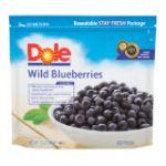 Dole - Fresh Frozen Wild Blueberries 0071202117124  / UPC 071202117124