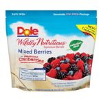 Dole - Wildly Nutritious Mixed Berries 0071202140184  / UPC 071202140184