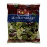 Dole - Salad Mediterranean Blend 0071430009598  / UPC 071430009598
