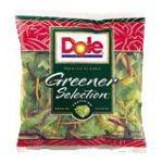 Dole - Greener Selection 0071430009659  / UPC 071430009659