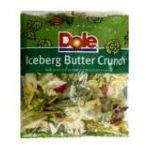 Dole - Iceberg Butter Crunch 0071430010396  / UPC 071430010396